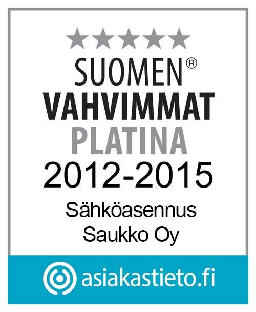 Sähköasennus Saukko kuuluu Suomen vahvimpiin yrityksiin.